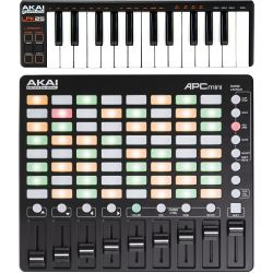 Akai Professional APC Mini +  Akai LPK25 Set