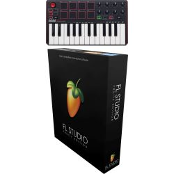 Akai MPK mini MK2 + Image Line FL Studio Fruity Edition 12