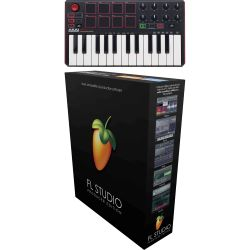 Akai MPK mini MK2 + IMAGE-LINE FL Studio - Producer Edition 12