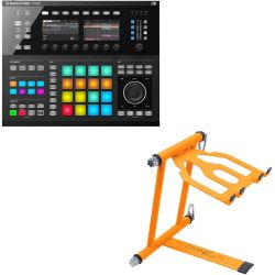 Native Instruments MASCHINE STUDIO schwarz + Laptopständer