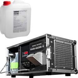 Smoke Factory Tour Hazer II-S + Case + 5L Hazer Fluid