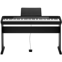 Casio CDP-130 BK Stage Piano + Stativ Set