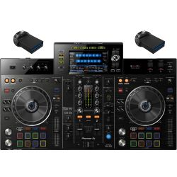 Pioneer XDJ-RX2 + 2x 64 GB USB Stick Set