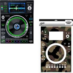 Denon SC5000 PRIME + PEACEMAKER Skin Modding Set