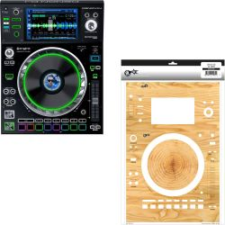 Denon SC5000 PRIME + WOODY Skin Modding Set
