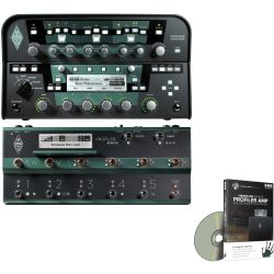 Kemper Profiler Head Schwarz + Profiler Remote Set + DVD Videotraining