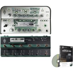 Kemper Profiler Head Weiß + Profiler Remote Set + DVD Videotraining