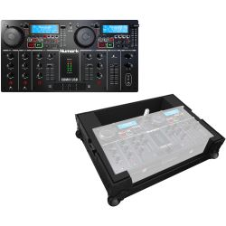 Numark CD MixUSB + Zomo Flightcase SET