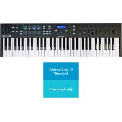 Arturia KeyLab Essential 61 Black Edition + Ableton Live 10