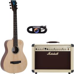 Martin Guitars LX ED SHEERAN 3 Divide + Marshall AS 50 D C Set