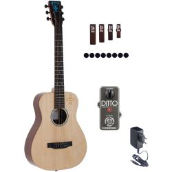 Martin Guitars LX ED SHEERAN 3 Divide +  TC Electronic Ditto Looper  + NT