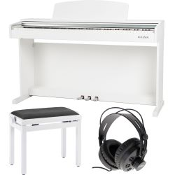 GEWA Digitalpiano DP-300G Weiss matt Set
