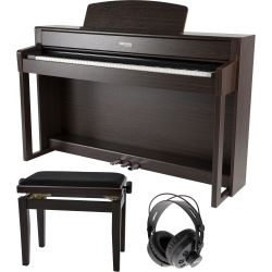 GEWA Digitalpiano UP-380G Rosenholz Set