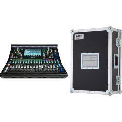 Allen & Heath SQ-5 Console + Haubencase