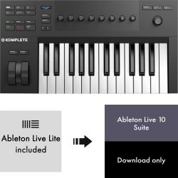 Native Instruments KOMPLETE KONTROL A25 + Ableton Live 10 Suite