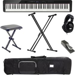 Casio Privia PX-S3000 BK Digital E-Piano X Set + KB + KS + SP + KT + KH + NT