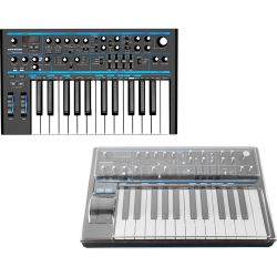 Novation Bass Station II Synthesizer + Staubschutzcover