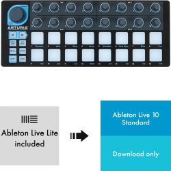 Arturia Beatstep Black Edition + Ableton Live 10