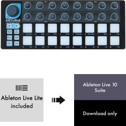 Arturia Beatstep Black Edition + Ableton Live 10 Suite