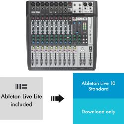 Soundcraft Signature 12 MTK + Ableton Live 10
