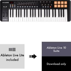 M-Audio Oxygen 49 MK4 + Ableton Live 10 Suite