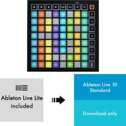 Novation Launchpad Mini MK3 + Ableton Live 10