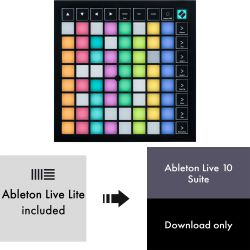 Novation Launchpad X + Ableton Live 10 Suite