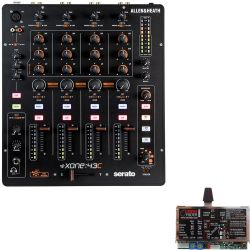 Allen & Heath Xone 43C + Innofader PNP Xone: DIY Kit
