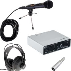 Steinberg UR12 USB Audio Interface Podcast Set