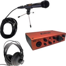 Esi U22 XT USB Audiointerface Podcast Set