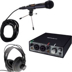 Roland Rubix 22 USB Audio Interface Podcast Set