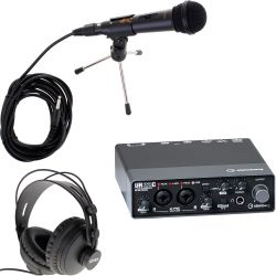 Steinberg UR22C USB 3 Audio Interface + iPad Support Podcast Set