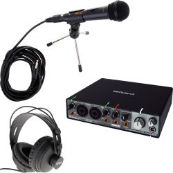 Roland Rubix 24 USB Audio Interface Podcast Set