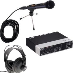 Steinberg UR242 USB Audio Interface Podcast Set