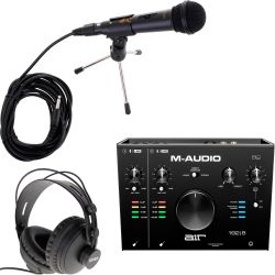 M-Audio AIR 192x8 Podcast Set