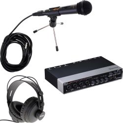 Steinberg UR44 USB Audio Interface Podcast Set