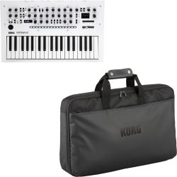 Korg minilogue xd Pearl White + Softcase