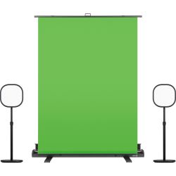 Elgato Green Screen + Key Light Air Doppelpack