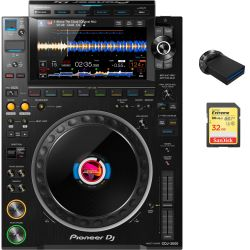 Pioneer CDJ-3000 64+4 GB Memory Bundle