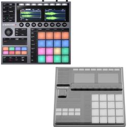 Native Instruments MASCHINE Plus + Staubschutzcover