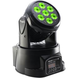 STAGG Head Banger LED Moving-Head mit 7x10W RGBW 4-in-1 LEDs