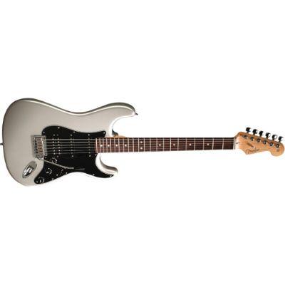 Fender American Strat HSS RW Chrome Silver | Musikhaus
