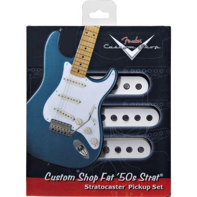 Fender Stratocaster Pickups Fat 50 Strat Set (3)   music store