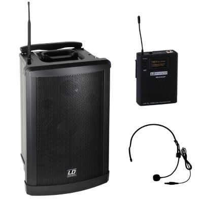 LD Systems ROADMAN 102 HS Portables System mit Headset
