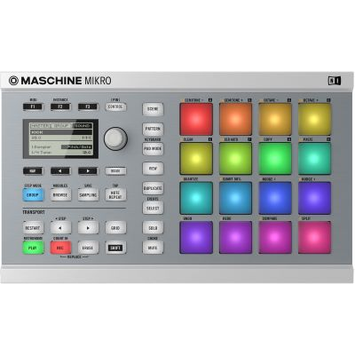 Native Instruments MASCHINE MIKRO MK2 weiß