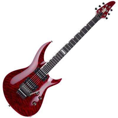 ESP Horizon III STD QM See Thru Black Cherry