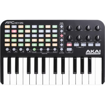 Akai Professional MIDI Keyboard APC Key 25