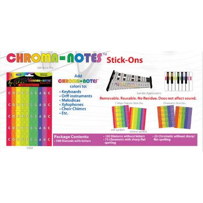 Boomwhackers Cns1 Chroma Notes Sticker