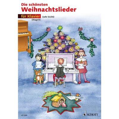 Die Schönsten Weihnachtslieder.Schott Die Schönsten Weihnachtslieder F Klavier