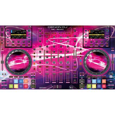 Denon DJ MCX 8000 BOOTSHAUS Skin